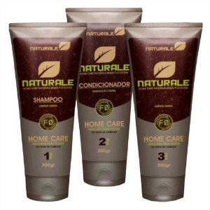 Kit Linha Home Care - Shampoo +  Condicionador + Leave-in - 300g
