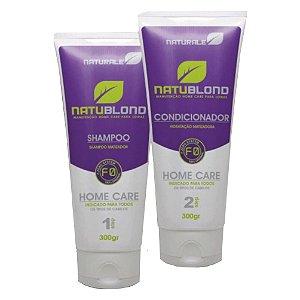 Naturale Shampoo Condicionador uso Diário Calêndula MATIZADA  2x300ml