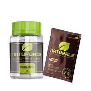 Kit Naturale - NatuForce + Sachet Passo 2 - 80ml