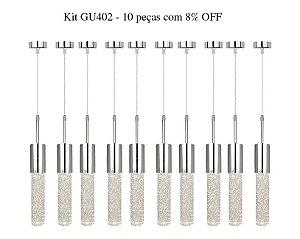 Kit GU402 - 10 peças com 8% OFF