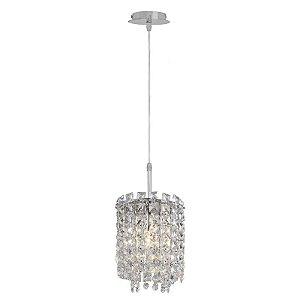 A425 – Pendente com cristais - Atacadista - Premier Iluminação
