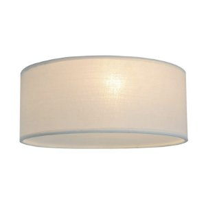 CL12029-D40-White – Plafon Tecido Branco - Atacadista - Premier Iluminação