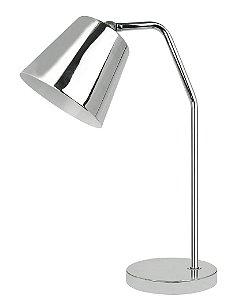 WL14040-1T - Luminária prata cúpula móvel - Atacadista - Premier Iluminação