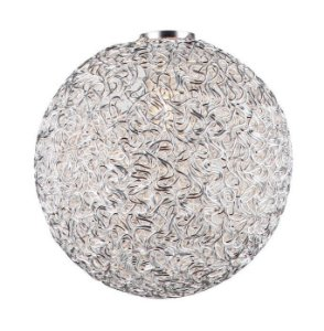 AL03 - Globo de alumínio tramado D28 - Atacadista - Premier Iluminação
