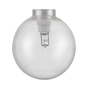 GL06 - Globo de vidro transparente D10 - Atacadista - Premier Iluminação