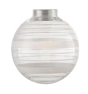 GL19 - Globo de vidro desenhado D10 - Atacadista - Premier Iluminação