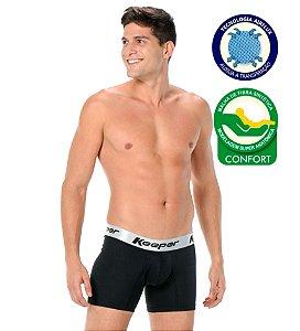 KIT 10 Cuecas Boxer Microfibra Confort Airflux