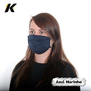 KIT 2 Máscaras de Tecido Algodão Lisas