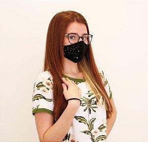 Máscara Design Fashion Estampada