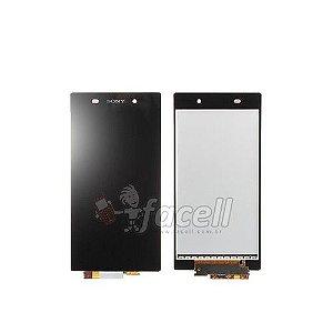 Touch + LCD (Frontal) Sony Xperia Z1 L39H Preto - 1ª Linha