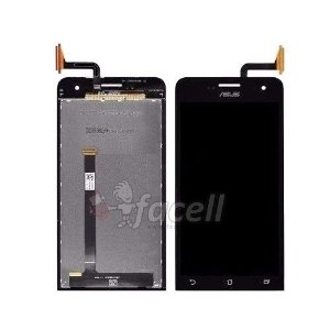 Touch + LCD (Frontal) Asus Zenfone 5 A501CG T00J Preto - 1ª Linha