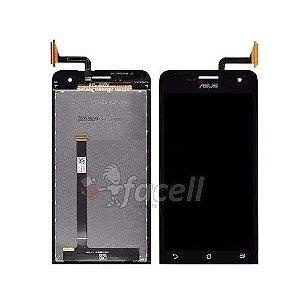 Touch + LCD (Frontal) Asus Zenfone 5 A501CG T00J Preto - 1ª Linha