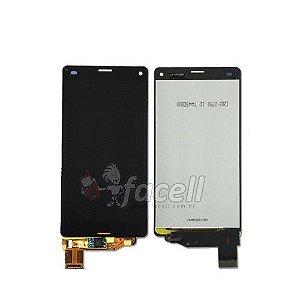 Touch + LCD (Frontal) Sony Xperia Z3 Mini Preto - 1ª Linha
