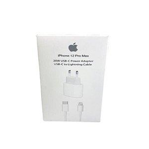 Carregador 20W USB-C iPhone+Cabo USB-C lightning