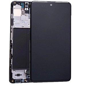 Display Frontal Completo Samsung A51 Com aro Oled