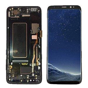 Display Galaxy S8 com aro