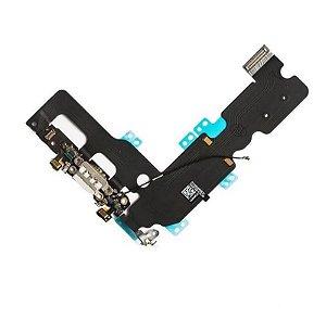 Flex Conector Carga Dock Usb Antena Iphone 7 Plus Original