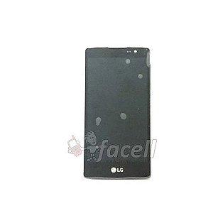Frontal LG Volt TV Dual H422 com Aro Preta