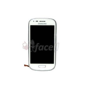 Touch + LCD (Frontal) Samsung Galaxy S3 Mini I8190 - Branco
