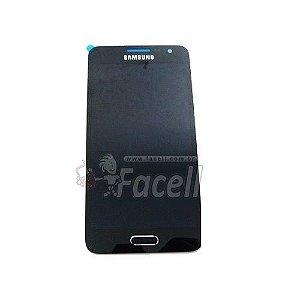 Touch + LCD (Frontal) Samsung Galaxy A3 A300 - Preto 1ªLinha