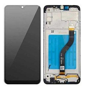 Frontal Samsung A20S - Original Preto C/Aro