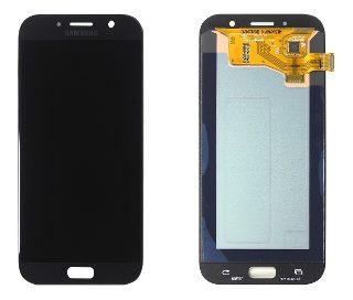 Frontal Samsung A720 - Incell Preto S/Aro
