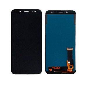 Frontal Samsung J600 - Incell Preto S/Aro