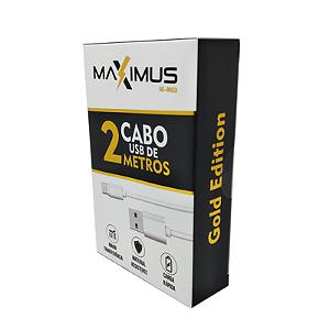 Cabo de Dados   Maximus  Ge-M03 Tipo C 2 Metros