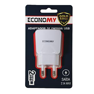 Carregador  Economy Ge-E02 2A      S/Cabo 2Usb