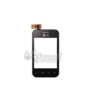 Touch LG L1 Ii E420 Preto AAA