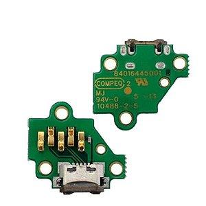 Placa Conector de Carga Motorola Moto G3 Geração Xt1543 1544 1550