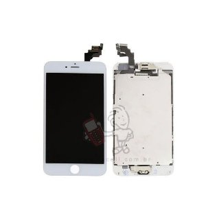 Touch + LCD (Frontal) iPhone 6 Plus - 1ª Linha Branco