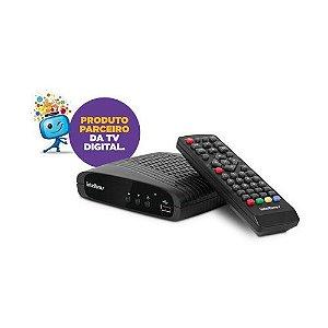 Conversor Digital De Tv E Gravador Hdmi Usb Cd 636 Intelbras
