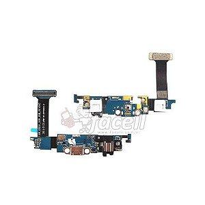 Flex Conector Carga Samsung S6 Edge G925F