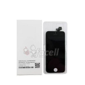 Touch + LCD (Frontal) iPhone 5G Preto  - AAA