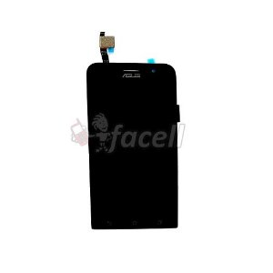 Frontal Zenfone GO 5 Polegadas ZB500KG Versao Nova - Flex Preto