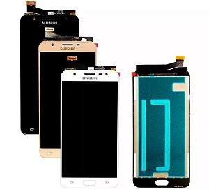 Frontal Samsung J7 Prime G610M 1 Linha - Escolha a Cor
