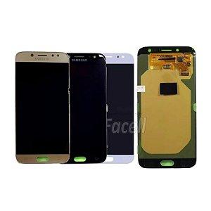 Frontal J7 Pro J730 Samsung 5.5 Polegadas Regula Brilho  - Escolha Cor