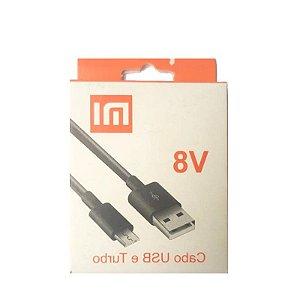 CABO USB E TURBO ENTRADA V8-UNIVERSAL-V8-MI