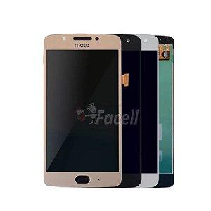 Frontal Motorola Moto G5 XT1672 1ª Linha -Sem Aro Escolha a Cor