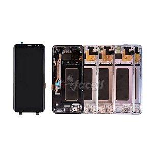 Frontal Samsung S8 G950 Original com Aro - Escolha Cor