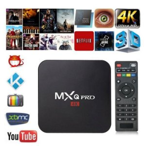 TV BOX 2GB RAM E 16 GB ROM TV BOX MXQ PRO 4K ANDROID 7.1