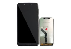 Display Frontal Moto G7 Play Preto 5,7 Polegadas Original