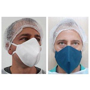 Máscaras Respiratórias C/4 Camadas De Tnt C/clip Nasal