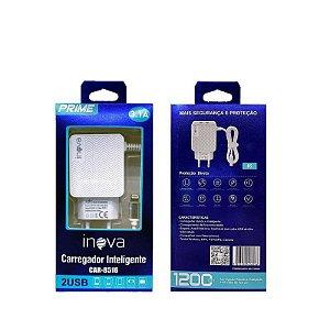 Carregador Prime 5.1A V8 Inova 2 Saídas USB CAR-8486