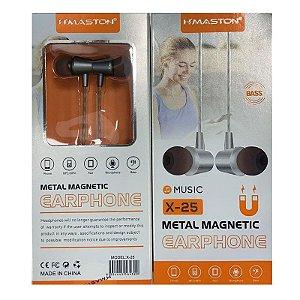 Fone H'Maston Metal Boss Music X-25