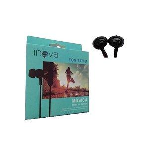 Fone De Ouvido Intra-auricular C/microfone Inova 2178D
