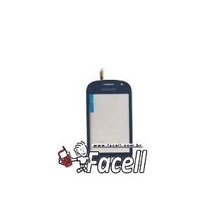 Touch Samsung Galaxy Fame Duos S6812 Azul - 1ª Linha