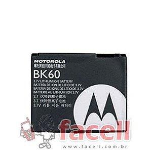 BATERIA MOTOROLA BK60 - ORIGINAL