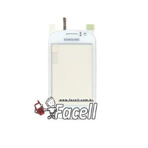 Touch Samsung Galaxy Fame Duos 6812 Branco - 1ª Linha